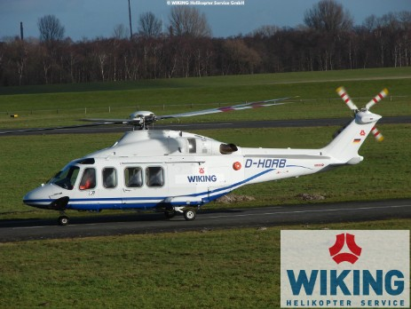 WIKING AW139 Helicopter